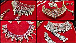 Jewellery Wholesale Market Sadar Bazar Delhi | AD American Diamond Bridal & Non Bridal Jewellery