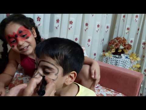 Mucize Uğur Böceği Ve Kara Kedi Dev Boyama Sayfası Dilara Tv