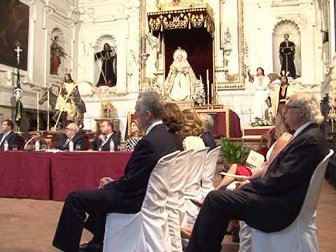 Vitorio y Luccino en la clausura de la Academia de las Artes de Antequera