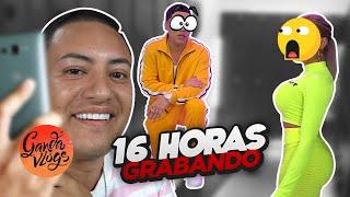 16 HORAS GRABANDO UN VIDEO Y PASA ESTO 😱🔥 + RETO | Ganda Vlogs