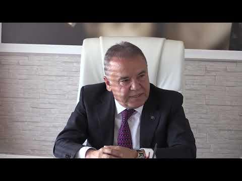 Antalyaspor Kulübü Derneği'nden Başkan Böcek'e ziyaret