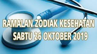 Ramalan Zodiak Kesehatan Sabtu 26 Oktober 2019