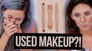 We Got Sold USED KKW Beauty Makeup Off Ebay?! (Beauty Break)