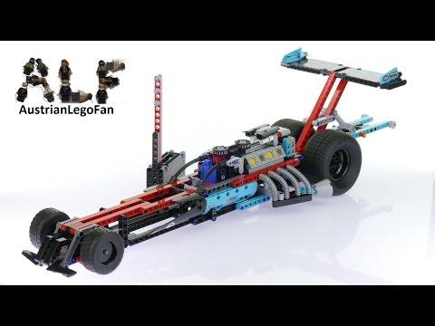 Vidéo LEGO Technic 42050 : Le véhicule dragster