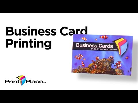 Business Cards by PrintPlace.com