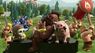 Clash Of Clans Movie   Full Animated Clash Of Clans Movie Coc Movie