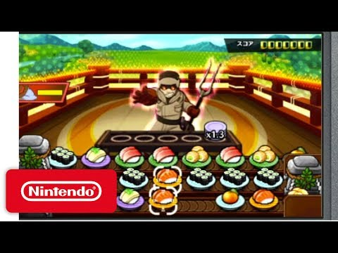 Sushi Striker: The Way of Sushido - Demonstration - Nintendo E3 2017 thumbnail
