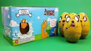 Adventure Time Surprise Eggs Unboxing - Surprise Eggs Unboxing Toys
