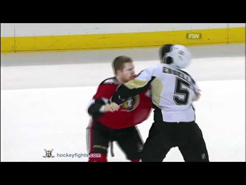 Deryk Engelland vs Chris Neil