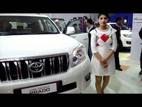 New Toyota Land Cruiser Prado at Auto Expo 2012, New Delhi, India