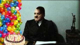 Hitler celebrates birthday