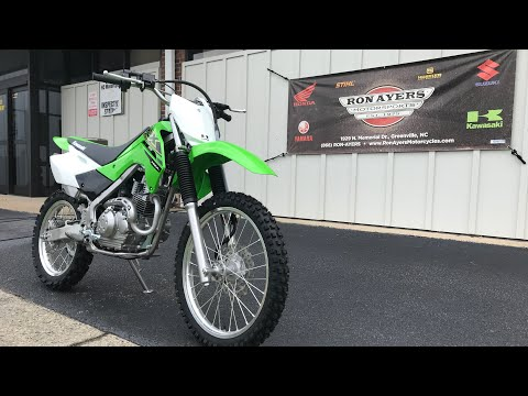 2021 Kawasaki KLX 140R L in Greenville, North Carolina - Video 1