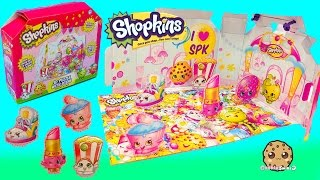 3D Shopkins Scene with 5 Jumbo Season 1 and 2 Puzzle Pieces |  Blind Bag Surprise