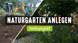 Wie ich einen Naturgarten anlege I Planung Gestaltung Landschaftsbau