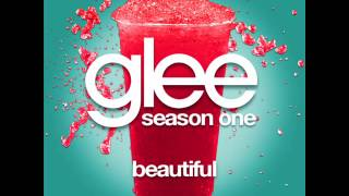 Glee - Beautiful [LYRICS]