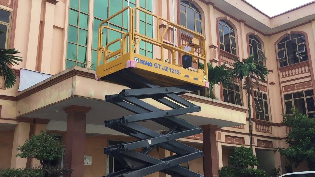 Xe thang nâng người làm việc trên cao XCMG