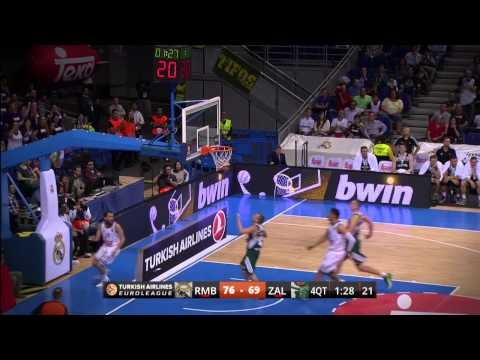 Assist of the night: Rudy Fernandez, Real Madrid