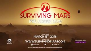 VideoImage1 Surviving Mars - First Colony Edition