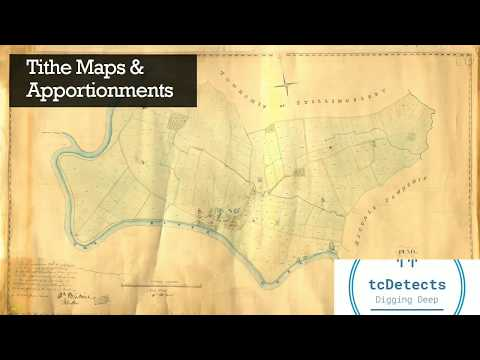 Tithe Map research with tcDetects