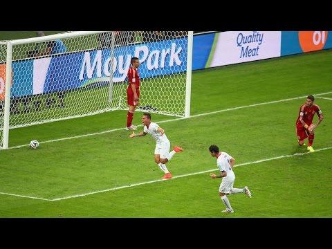 Slovaquie vs Espagne (2-1) EC Qualification (2016) 9/10/2014