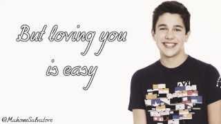 Austin Mahone - Loving You Is Easy Lyric Video