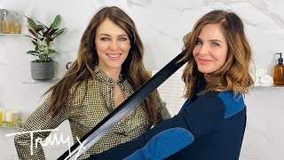 Elizabeth Hurley Wears A Bra To Sleep | The T-Zone | Trinny