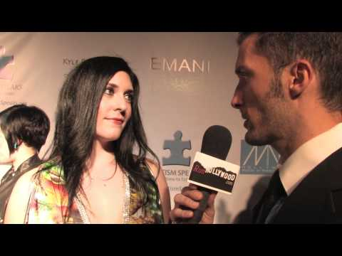 Kristen Faulconer at the (HMMA's)The 2011 Hollywood Music In Media Awards Celebrity Red Carpet