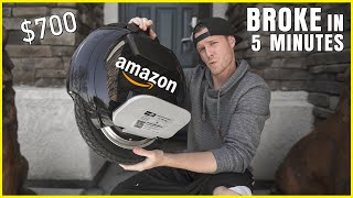 I BOUGHT the CHEAPEST Electric Unicycle on AMAZON ($700)