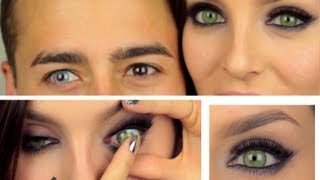 Coloured Cosmetic Contact Lenses Review: DESIO