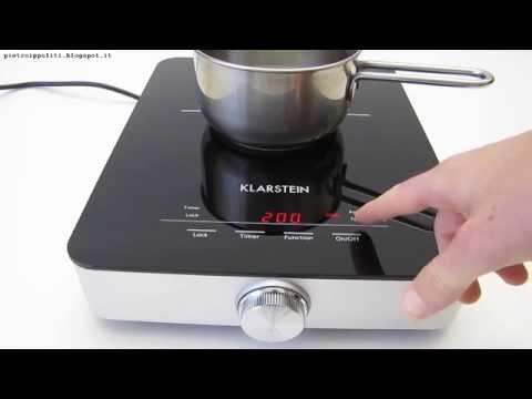 Klarstein VariCook SX 1800w, test piano cottura induzione portatile