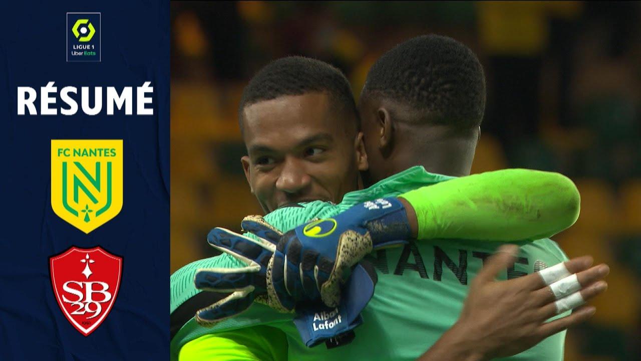 FC NANTES - STADE BRESTOIS 29 (3 - 1) - Résumé - (FCN - SB29) / 2021-2022