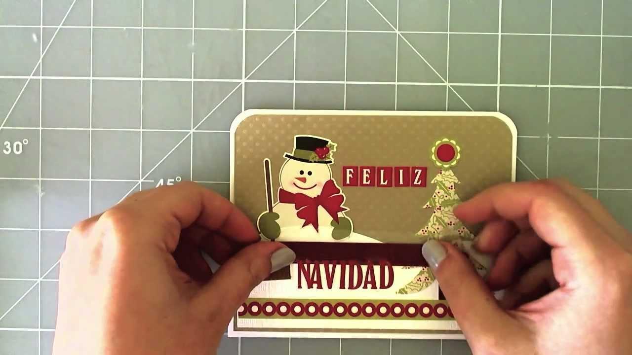 Christmas card - Tarjeta de navidad