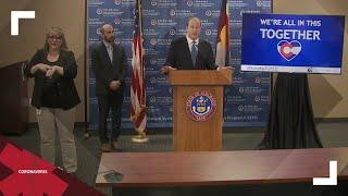 Colorado governor provides update on COVID-19 response