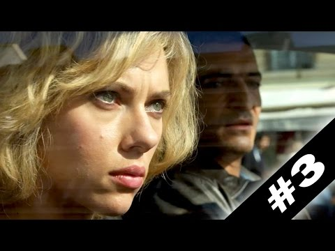 """Car Chase"" LUCY Movie Clip # 3"