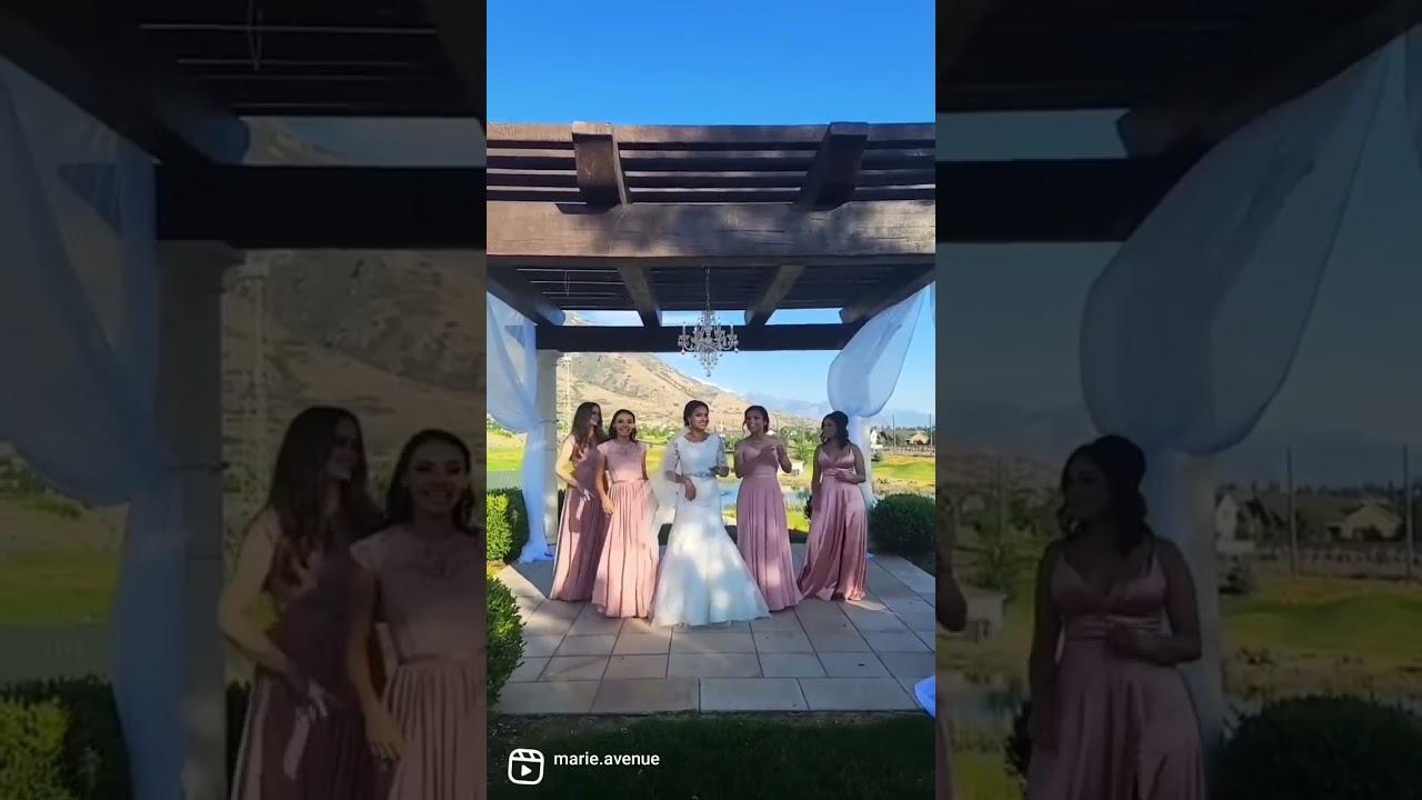 Wedding day + Tiktok Trend