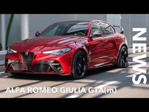 10 Fakten zur 2020 Alfa Romeo Giulia GTA vs. GTAm | Voice over Cars News