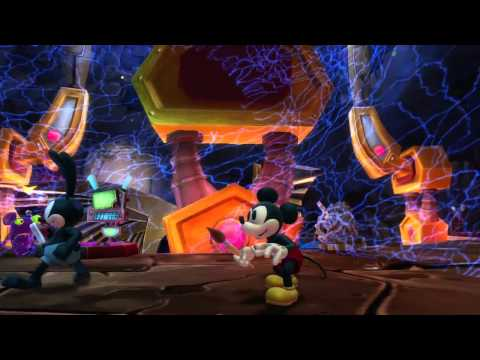 Видео № 1 из игры Epic Mickey 2: The Power of Two (Б/У) [PS Vita]