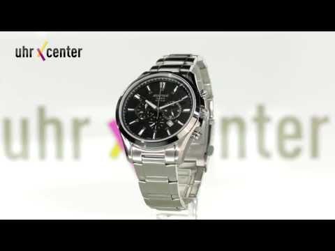 Casio EFB-504D-1AVEF Edifice Herren-Chronograph
