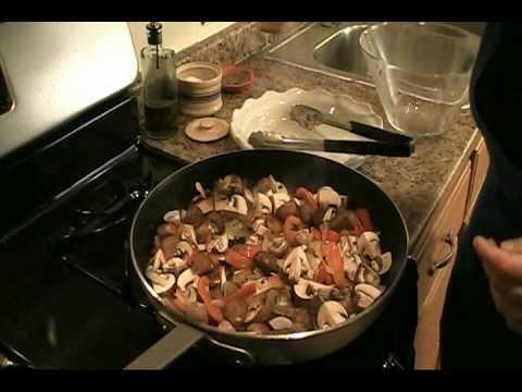 """Chicken Cacciatore Recipe – Laura Vitale """"Laura In The Kitchen"""" Episode 9"""