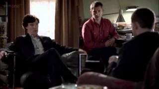 Sherlock épisode 2.02 - Henry meets Sherlock & John