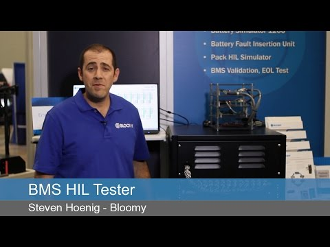 BMS HIL Test System Demonstration