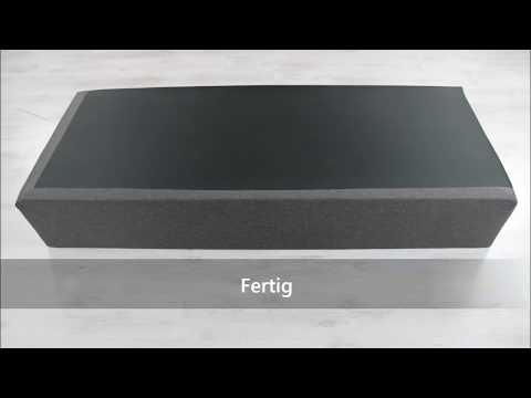 Boxspringbett: So wird die Unterbettbox mit Stoff bezogen