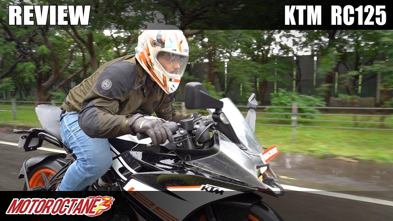 Motoroctane Youtube Video - KTM RC 125 Review | Hindi | Motoroctane