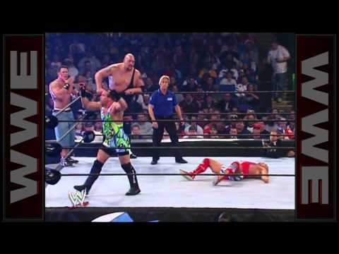 Eddie Guerrero and Kurt Angle cheat to win: Survivor Series 2004
