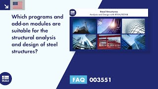 FAQ 003551 | Which programs and add-on modules are suitable for the structural analysis and desig...