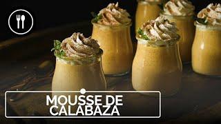 Mousse de calabaza, receta de postre fácil, rápido y sorprendente