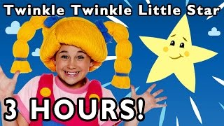 Twinkle Twinkle Little Star + More | 3 Hours of Nursery Rhymes from Mother Goose Club
