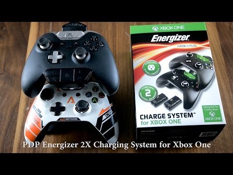 PDP Energizer 2X Charging System for Xbox One Elite Controller
