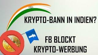 Facebook verbannt Werbung für ICOs und Kryptos   Verunsicherung aus Indien