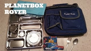 PlanetBox Rover Unboxing & First Packed Lunch